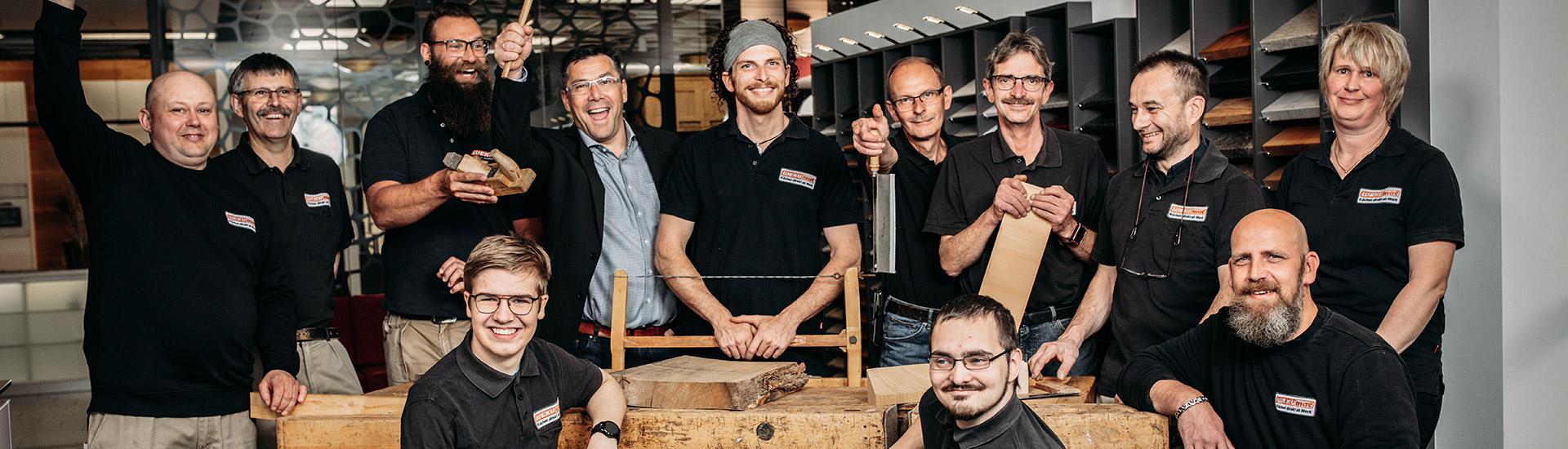 Das Team des Küchenstudios WEKUmat bei Offenbach