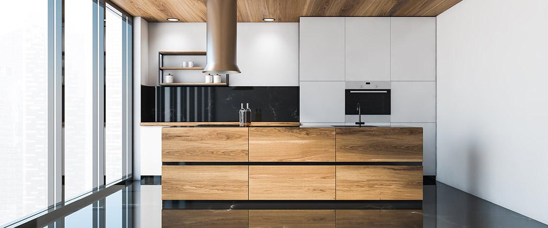 Moderne Küche mit Küchentrends