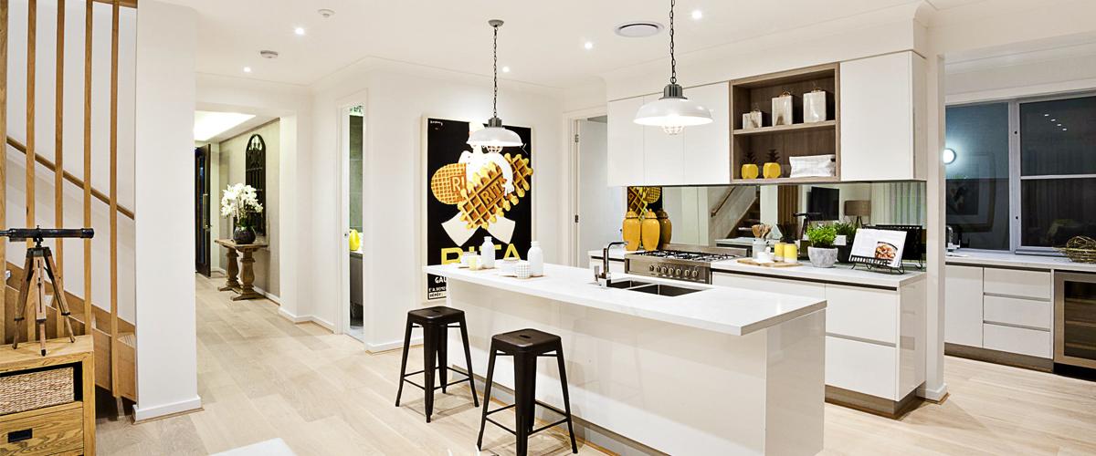 Moderne Küche beim Küchenkauf